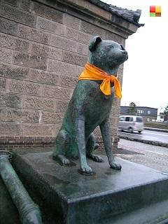 小樽の消防犬 「ぶん公」