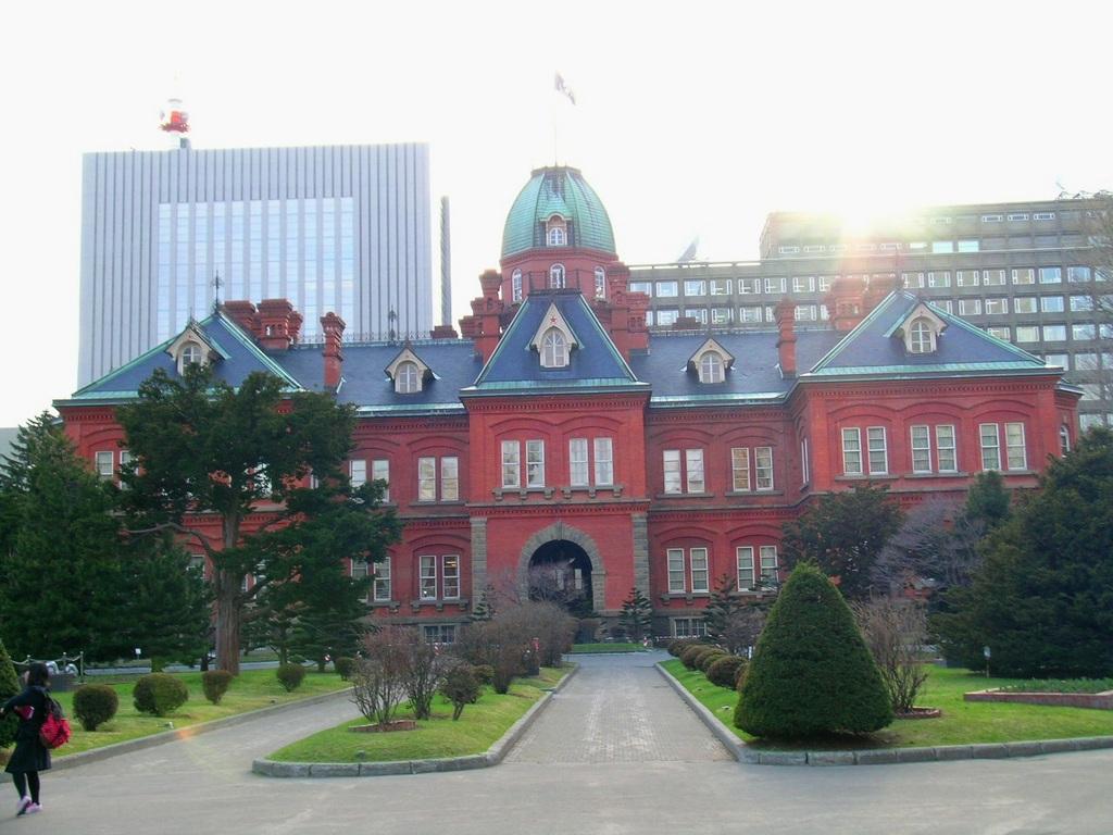 旧北海道庁(赤レンガ)