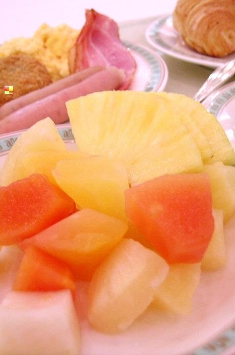 全日空ホテルでの朝食