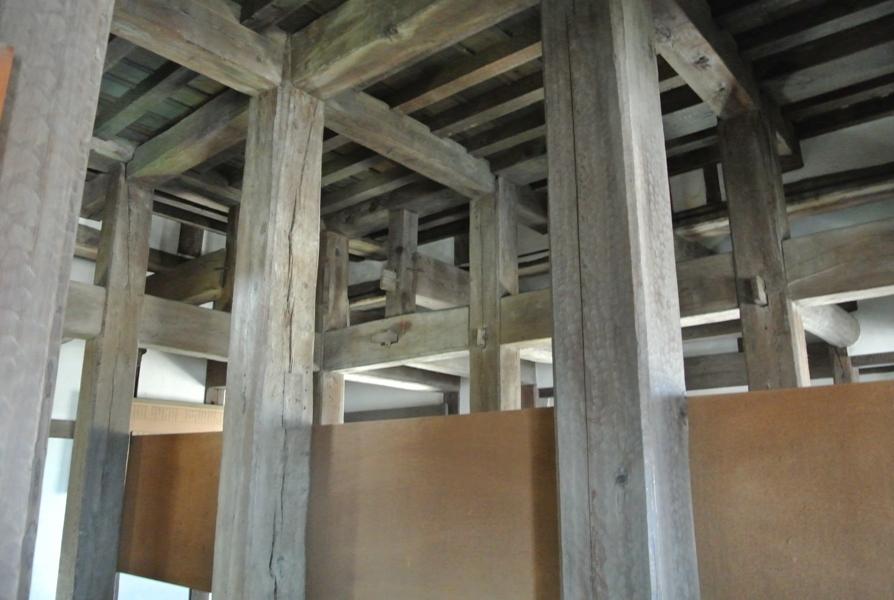 高松城 月見櫓内部