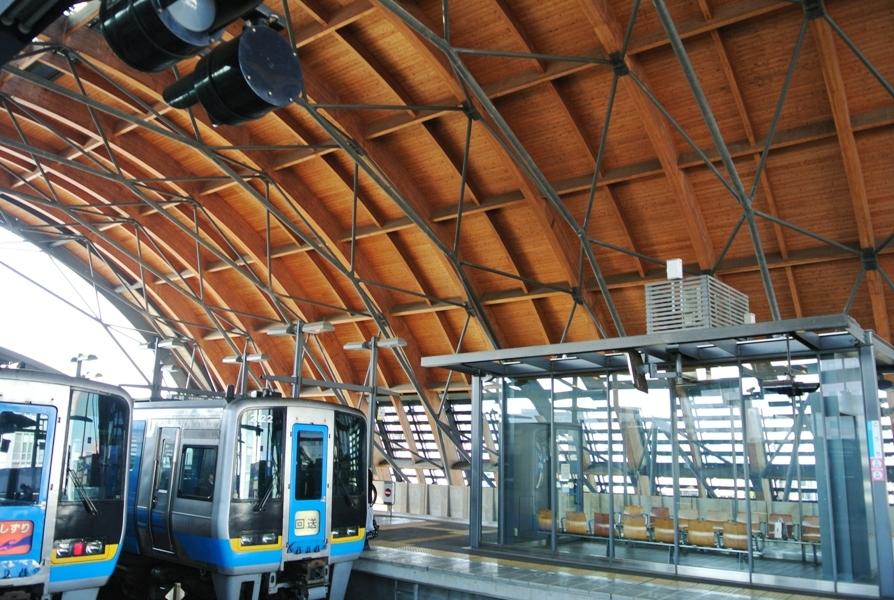 高知駅 ホーム