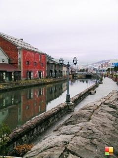 小樽運河 全景
