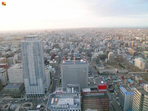 展望台からの景色(駅北側)
