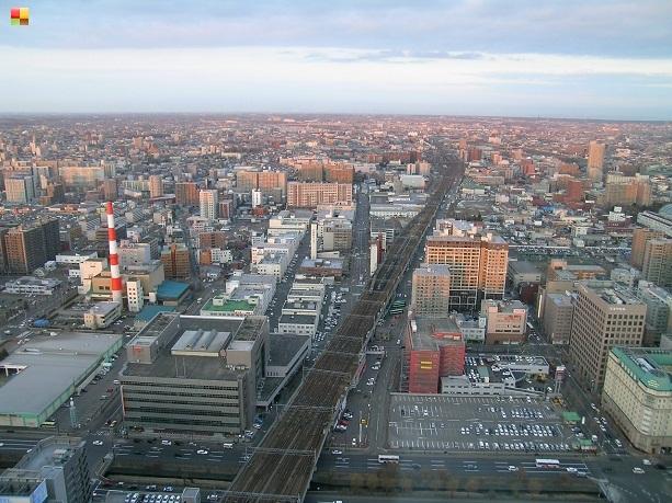 展望台からの風景(駅西側)