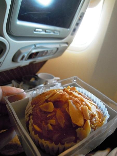 機内食のデザート