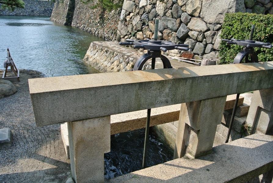 高松城 水門